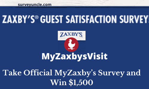MyZaxbysVisit | Take Official MyZaxby's Survey and Win $1,500