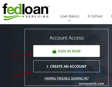 Steps for FedLoan Login at FedLoan Servicing Account