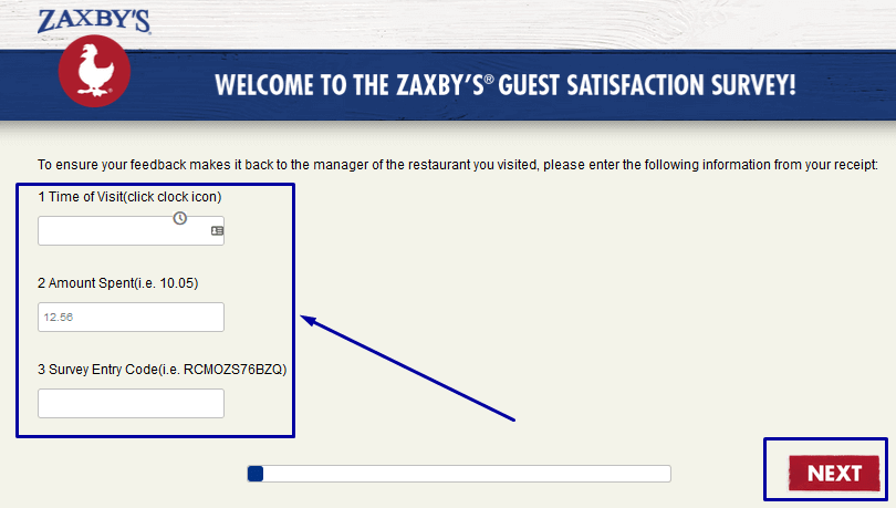 How To Complete The Zaxby's® Guest Satisfaction Survey?
